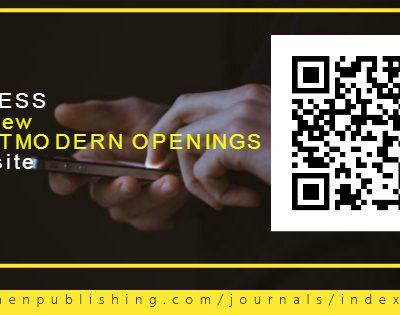 June2017 issue Postmodern Openings Journal